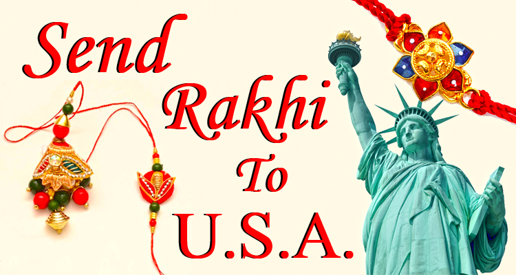 Rakhi To USA