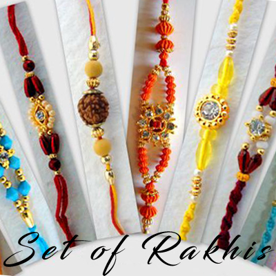 Set of Rakhis
