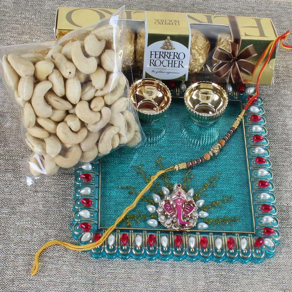 Gorgeous Rakhi Gift for Bhai - Canada