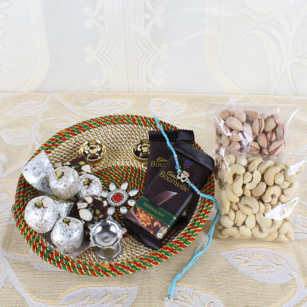 Memorable Rakhi Gift Hamper-Worldwide