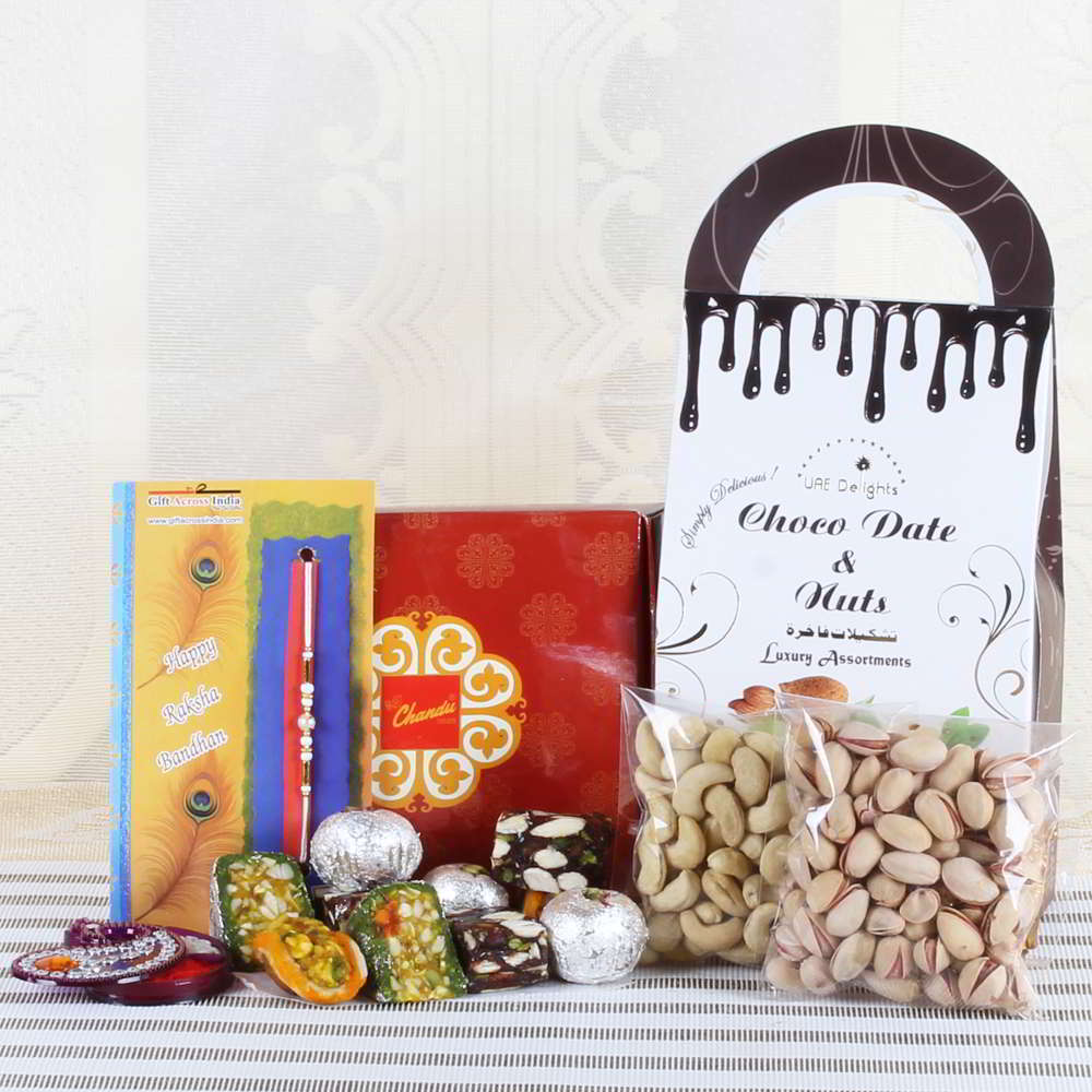 Perfect Exclusive Rakhi Hamper for Brother