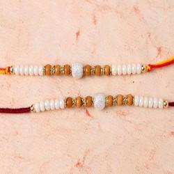 Attractive Set of Two Rakhi for Brother
