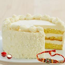 Butterscotch Cake with Rakhi