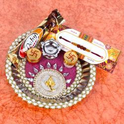 Chocolate with Rakhi Thali