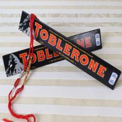 Toblerone Chocolate Bars with Two Rakhis