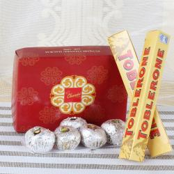 Toblerone Chocolate with Sweets