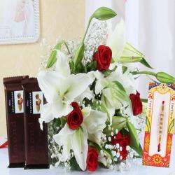 Adorable Rakhi Gift Hamper Online