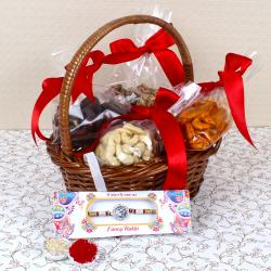 Assorted Cashew with Om Rakhi