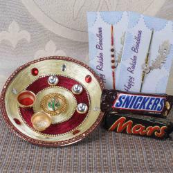 Attractive Puja Rakhi Gift Hamper
