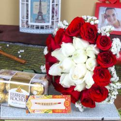 Attractive Rakhi Gifting Combo