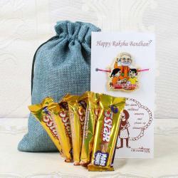 Cadbury 5 Star Chocolates with Modi Rakhi