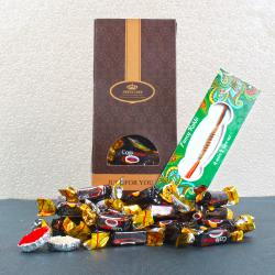Cafe Dew Toffee with Rakhi