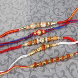 Classic Designer Rakhi Set of Five