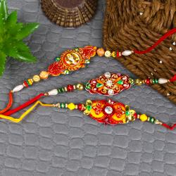 Classic Traditional Crafted Rakhi