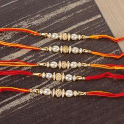 Collection of Five Attractive Rakhi for Brother