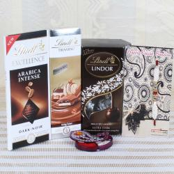 Complete Chocolate Hamper with Rakhi for Brother