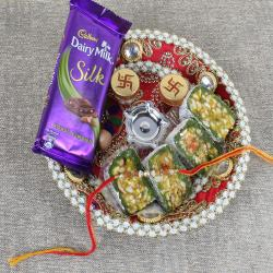 Complete Puja Thali Sweet and Chocolate Combo