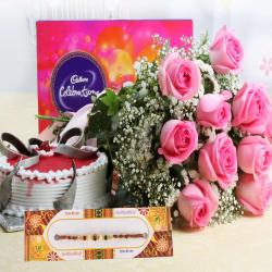Complete Rakhi Gift for Brother For Same Day