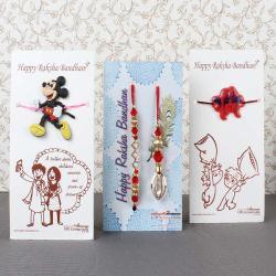 Designer Rakhi Family Pack - UAE
