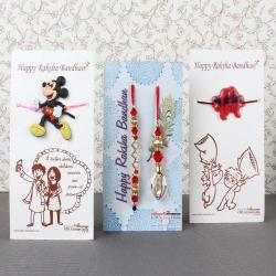 Designer Rakhi Family Pack