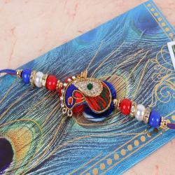 Designer Zardosi Rakhi - UK