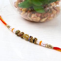 Diamond and Beads Rakhi