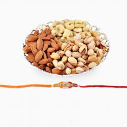 Dry Fruits and Rakhi