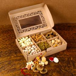 Exclusive Dry Fruits with Rakhi