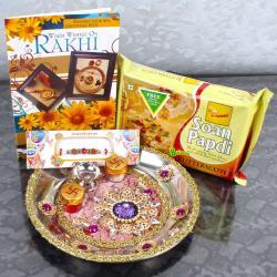 Exclusive Rakhi Thali Combo - UK