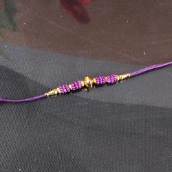 Fancy Beads Rakhi