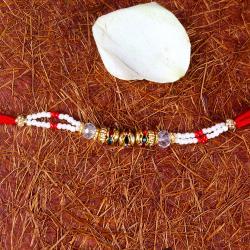 Fancy Multi Beads Rakhi