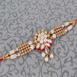 Gorgeous Kundan Rakhi
