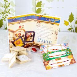 Kaju Sweets with Rakhis