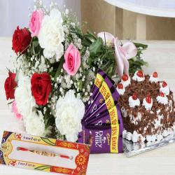 Lovable Rakhi Hamper for Brother
