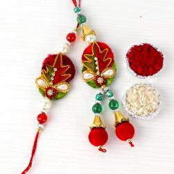 Lovely Rakhi For Bhaiya Bhabhi