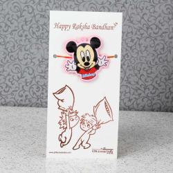 Mickey Rakhi for Kids