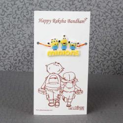 Minions Rakhi for Kids