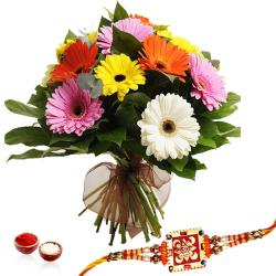 Mix Geberas with Rakhi