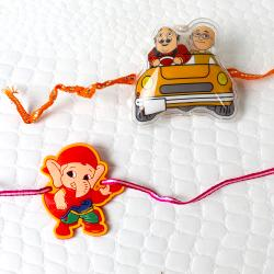 Pack of 2 Kid Rakhis