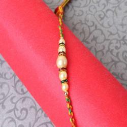 Pearl Beads Rakhi