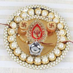Pearl Ganesha Puja Thali - UK