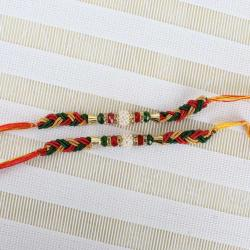 Pearl with Colourfull Bead Rakhis