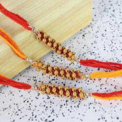 Perfect Rakhi Combo of Three for Loving Brothers