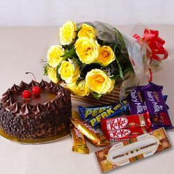 Perfect Rakhi Gift Hamper Online