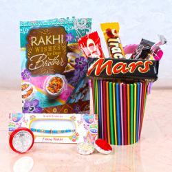 Rakhi Gift of Choco Eva Basket