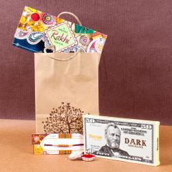 Rakhi Gift of Toretto Dark Chocolate