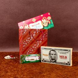 Rakhi Gift of Toretto Milk Chocolate
