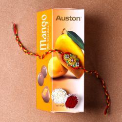 Rakhi Gift with  Auston Mango Chocolates
