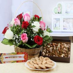 Rakhi Hamper for Brother Online