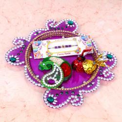 Rakhi Thali for Bhaiya